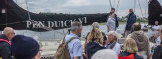 Départ de The Element Project et de Marie TABARLY, le 3 juillet à Lorient. REALITES partenaire du projet.