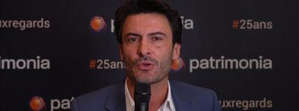 Salon Patrimonia à Lyon : Jean-François Vigneron dans la media room