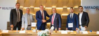 Signature partenariat REALITES AFRIQUE - GROUPE MFADEL_def