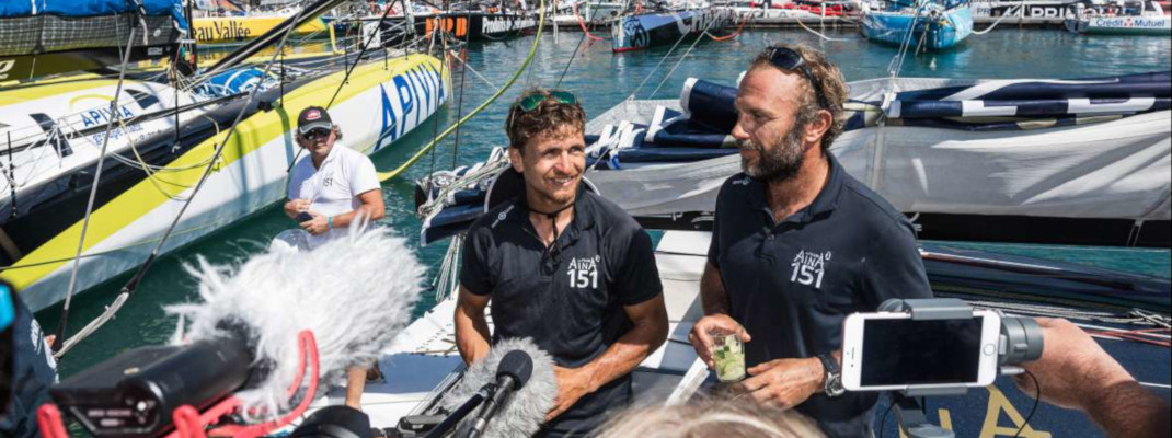 Team Aïna 3e place Transat Jacques Vabre